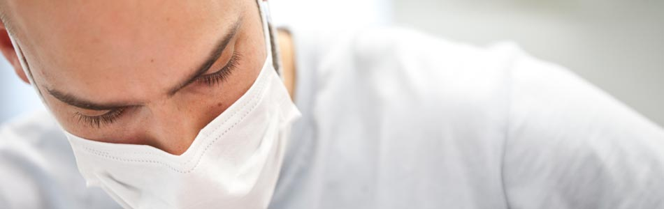 Vladan Vasiljević während einer Behandlung